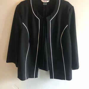 TanJay Black Petite Office Jacket